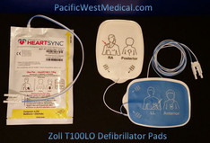 Zoll Adult Defibrillator Pads (Leads-Out) - T100LOAC-Zoll Radiolucent HeartSync