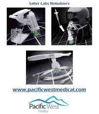 Salter Labs 8923 Nebulizer with adult elastic strap style aerosol mask