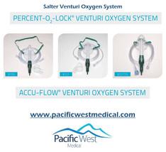 Salter Labs 8121 Pediatric Percent-O2-Lock¨ air entrainment