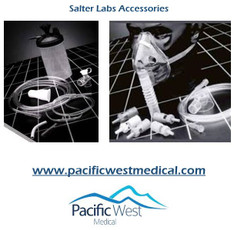 Salter Labs 8511B Salter O2XPRESS¨ with Adult Nasal Cannula includes Safe-T bag carrying case