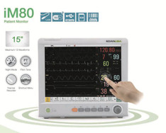 EDAN iM80 Patient Monitor with TouchScreen, CO2, ECG, SPo2, NIBP, Temp, Printer
