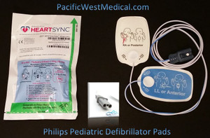 HeartSync Replacement Pads for Philips FR2 Pediatric AED