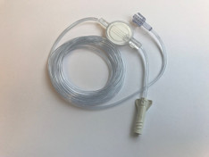 Adult. Inline ETCO2 Filtered Sampling Line with Adapter, 6' ETCO2 line, for prolonged duration use - 4MSF6-L-6-25