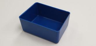 """3"""" x 4"""" x 2"""" Blue plastic tool box organizers"""