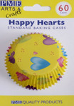 Happy Hearts Baking Cups