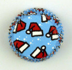 Santa Hats Baking Cups - Mini