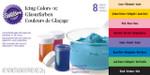 8 Piece Icing Colour Set