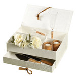 Eco-Occasions Natural Mulberry Paper Keepsake Box