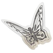 Elegant Butterfly Side Pick