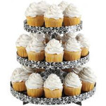 Damask Treat Stand
