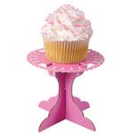 Pink Cupcake Pedestal
