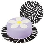 Zebra Fashion Cake Boards