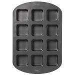 12 Cavity Square Cupcake Pan