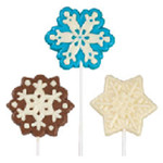 Snowflake Large Lollipop Mould