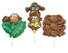 Monkey Lollipop Mould