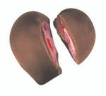Deep Heart Truffle Candy Moulds