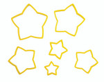 Nesting Star Cutter Set