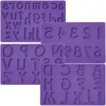 Letters/Numbers Fondant & Gum Paste Moulds