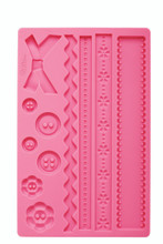 Fondant and Gum Paste Silicone Mould Fabric