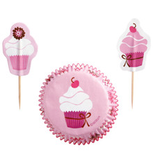 Pink Party Cupcake Combo Pack