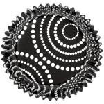 Black Dots Colour Cups Baking Cups