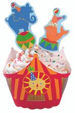 Big Top Cupcake Wraps 'n' Pix