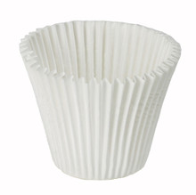 Jumbo White Baking Cups