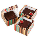 Small Brownie Striped Treat Box Kit