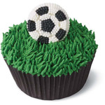 Soccer Ball Icing Decals
