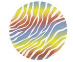 Cake Board - Rainbow Zebra