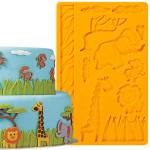 Fondant and Gum Paste Mould - Jungle Animals