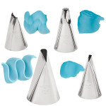 4-Pc. Ruffles Tip Set