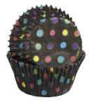 Black with Neon Baking Cups - Standard
