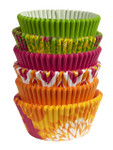 Multi Pack Baking Cups - Neon Florals