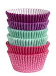 Multi Pack Baking Cups - Pink/Turq/Purple