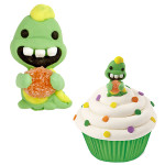 Dinosaur Royal Icing Decorations with Gumdrop