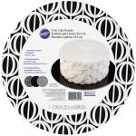 Assorted Black & White Round Cake Board Set