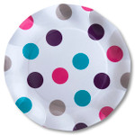 Pois Multicolour Large Plate - 27cm