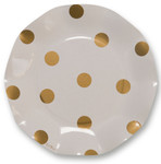 Pois Gold Small Plate - 21cm