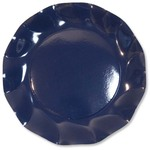 Navy Blue Large Plate - 27cm