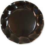 Gloss Black Large Plate - 27cm