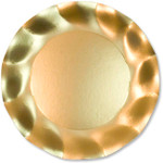 Satin Gold Large Plate - 27cm