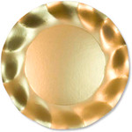 Satin Gold Small Plate - 21cm