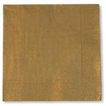 Gold 3 ply Napkins - 33cm x 33cm