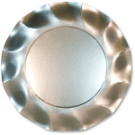 Satin Silver Large Plate - 27cm