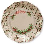 Shabby Christmas Small Plate - 21cm