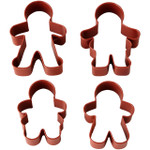 Gingerbread 4pc Cookie Cutter Set