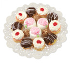 """White Round Doilies Multipack 8"""" 10"""" & 12"""""""