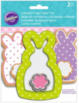 Bunny With Flower Comfort Grip Set