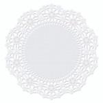 """4"""" White Round Doilies"""